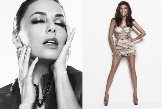 Eva Longoria The Beauty Book for Brain Cancer Photoshoot