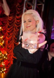 Holly Madison at Surrender Nightclub in Las Vegas