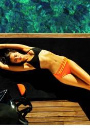 Irina Shayk Germaine De Capucini Skincare Photoshoot