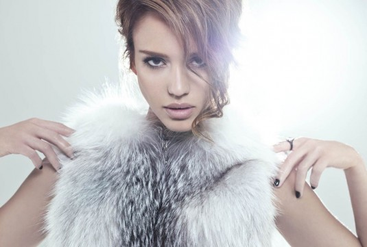 Jessica Alba The Beauty Book for Brain Cancer Photoshoot