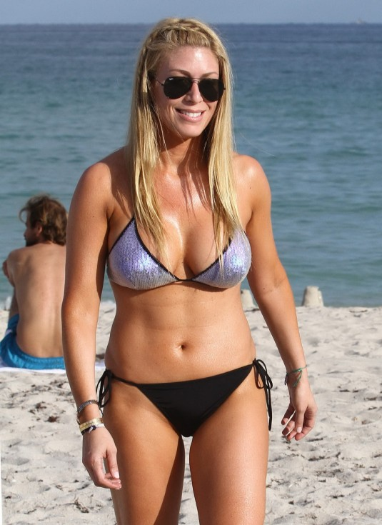 Jill Martin Hot Bikini Candids in Miami