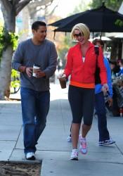 Katherine Heigl Leaving Bungalow Cafe in Los Angeles