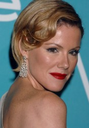 """Kathleen Robertson Arrives at HFPA And InStyle Present """"A Night Of Firsts"""" in LA"""