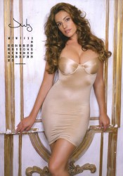Kelly Brook 2012 Calendar July