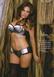Kelly Brook 2012 Calendar May