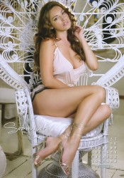 Kelly Brook 2012 Calendar September