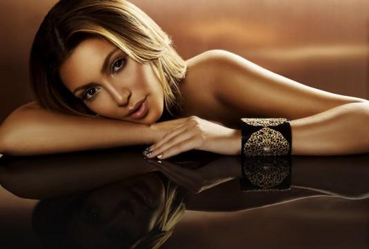 Kim Kardashian The Beauty Book for Brain Cancer Photoshoot