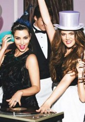 Kim, Kourtney & Khloe Kardashian Covers Glamour Magazine