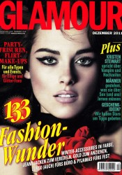 Kristen Stewart Covers Glamour Germany December 2011
