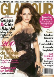 Kristen Stewart Covers Glamour Mexico December 2011