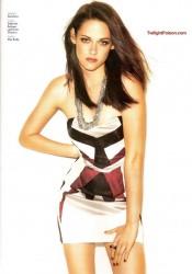 Kristen Stewart Covers Glamour Mexico December 2011