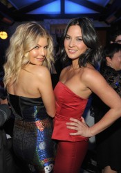 Olivia Munn and Fergie - A Night of First and Miss Golden Globe Event in Los Angeles