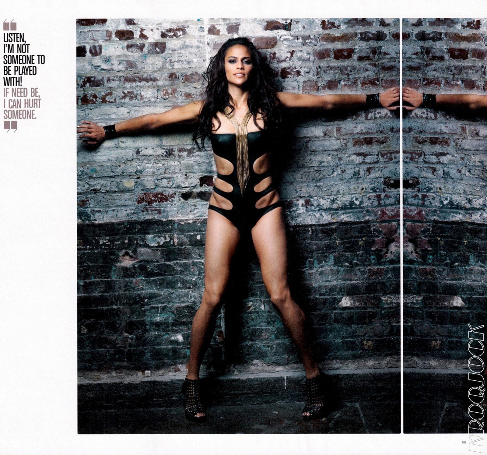 paula patton in complex magazine - hawtcelebs