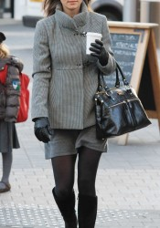 Pippa Middleton on Her Way to Work in West London