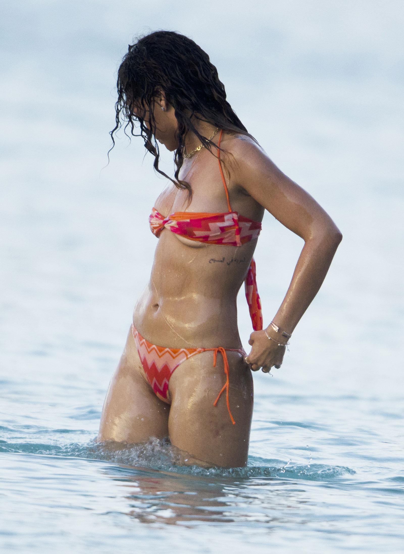Bikini rihanna Shocking ALLEGED