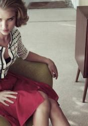 Rosie Huntington-Whiteley - Harper's Bazaar UK Magazine Photoshoot