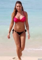 Sara Biabiany Hot Bikini Candids in Barbados
