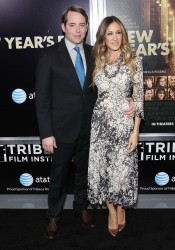 Sarah Jessica Parker Arrives at New Year's Eve Movie Premiere in NY