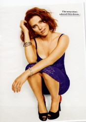 Scarlett Johansson Covers Cosmopolitan Magazine January 2012
