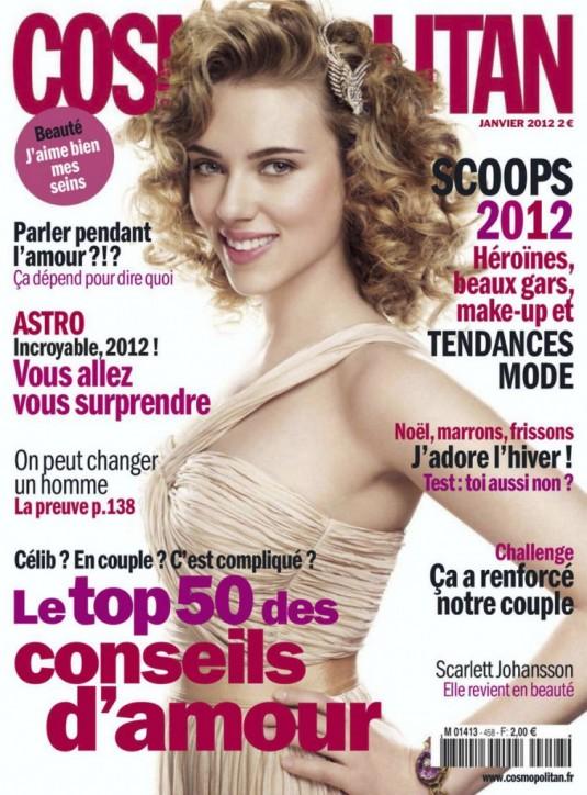 Scarlett Johansson Covers Cosmopolitan France