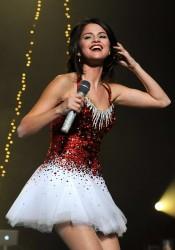 Selena Gomez at 107.9 The End 2011 Jingle Ball at Power Balance Pavilion in Sacramento