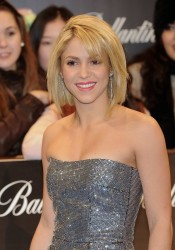 Shakira Arrives at 40 Principales Awards in Madrid