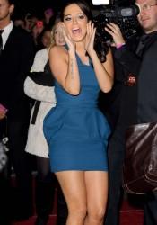Tulisa Contostavlos Arrive for X Factor Final London