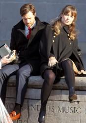 Olivia Wilde on set of The Longest Week