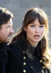 Olivia Wilde on set of The Longest Week