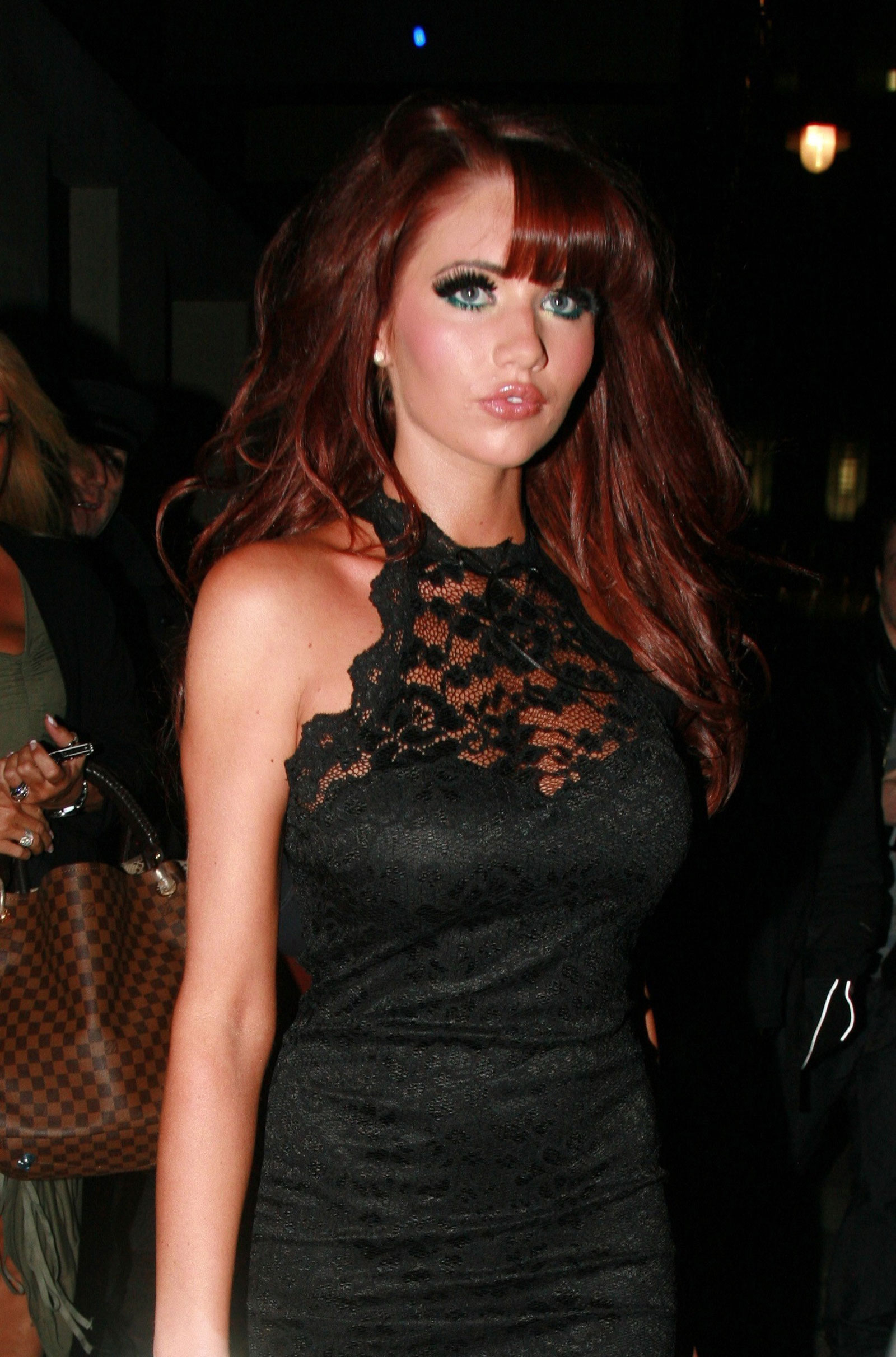 Amy Childs Leaves The Mayfair Hotel In London HawtCelebs