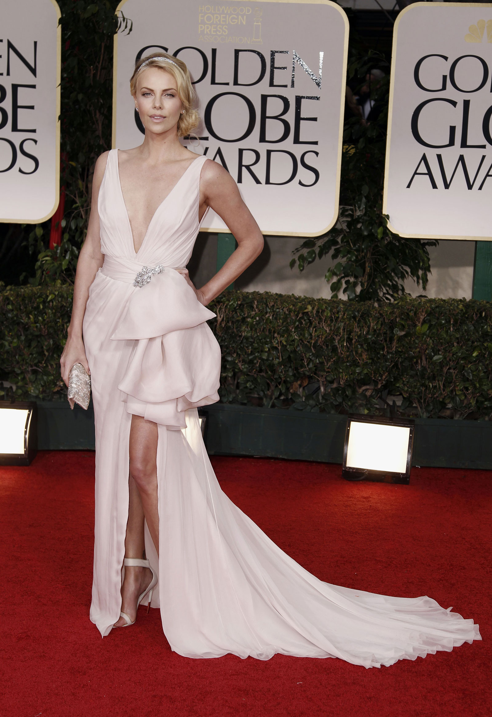 67484552e308a Charlize Theron at 69th Annual Golden Globe Awards in Los Angeles ...