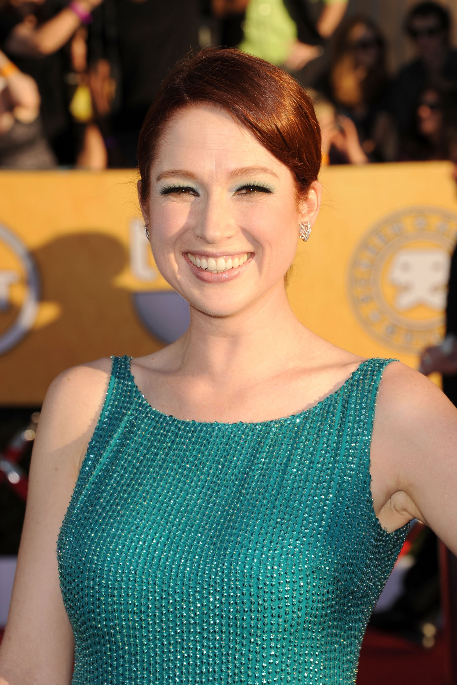 Ellie Kemper At 18th Annual Screen Actors Guild Awards In Los