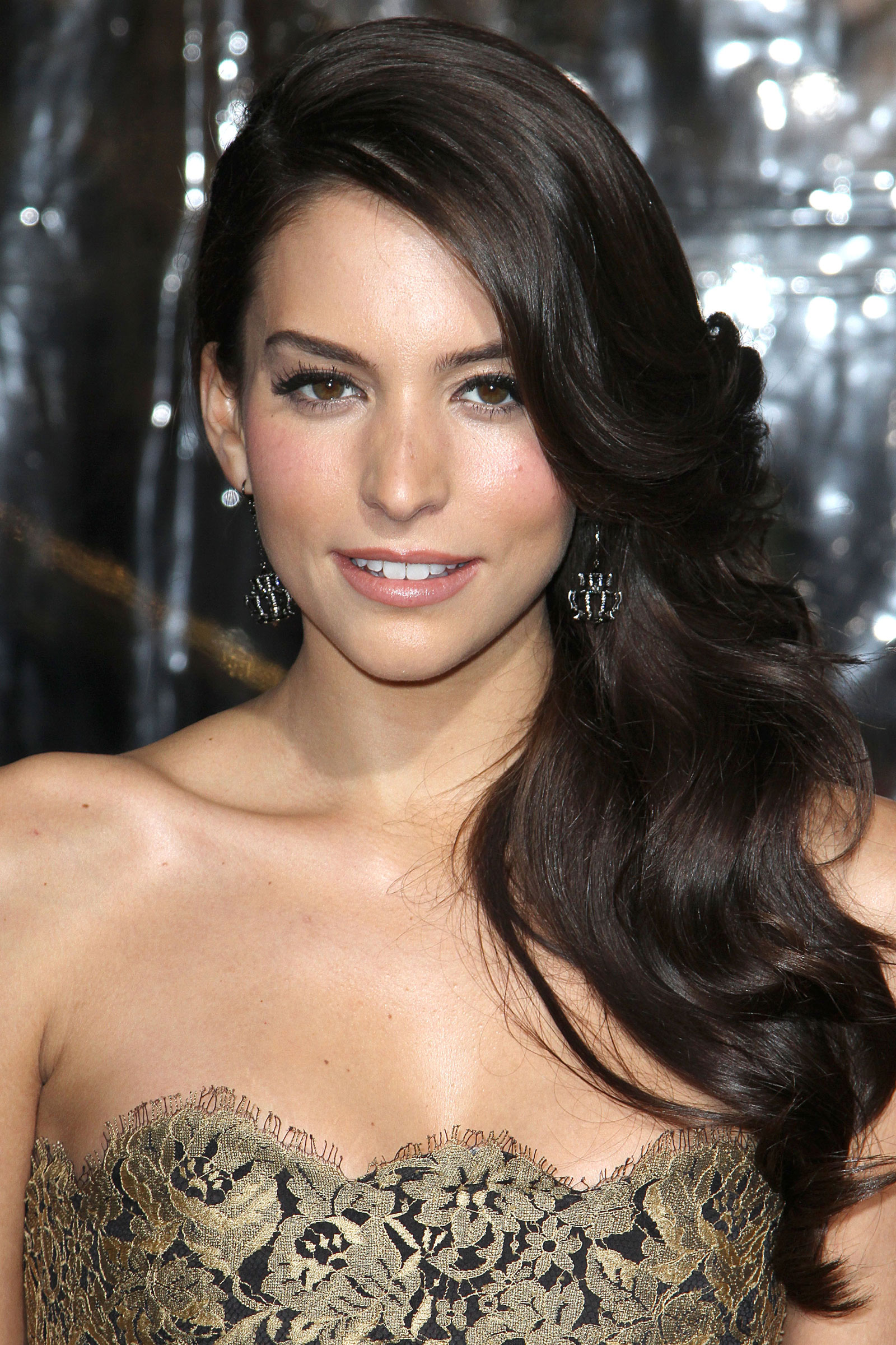 Genesis Rodriguez At Man On A Ledge Premiere In Los