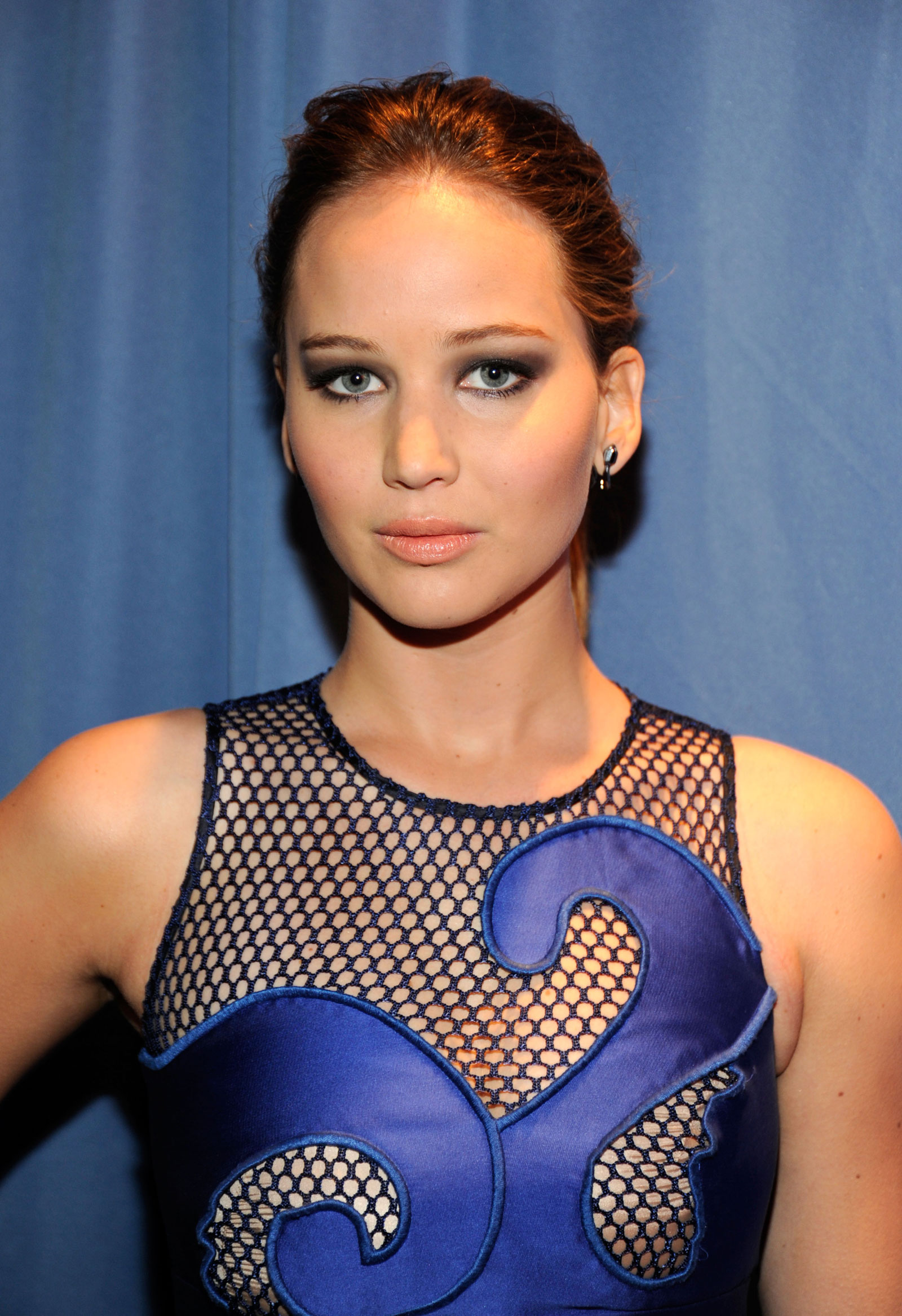 Jennifer Lawrence At The 2012 Peoples Choice Awards At Nokia Theatre I...