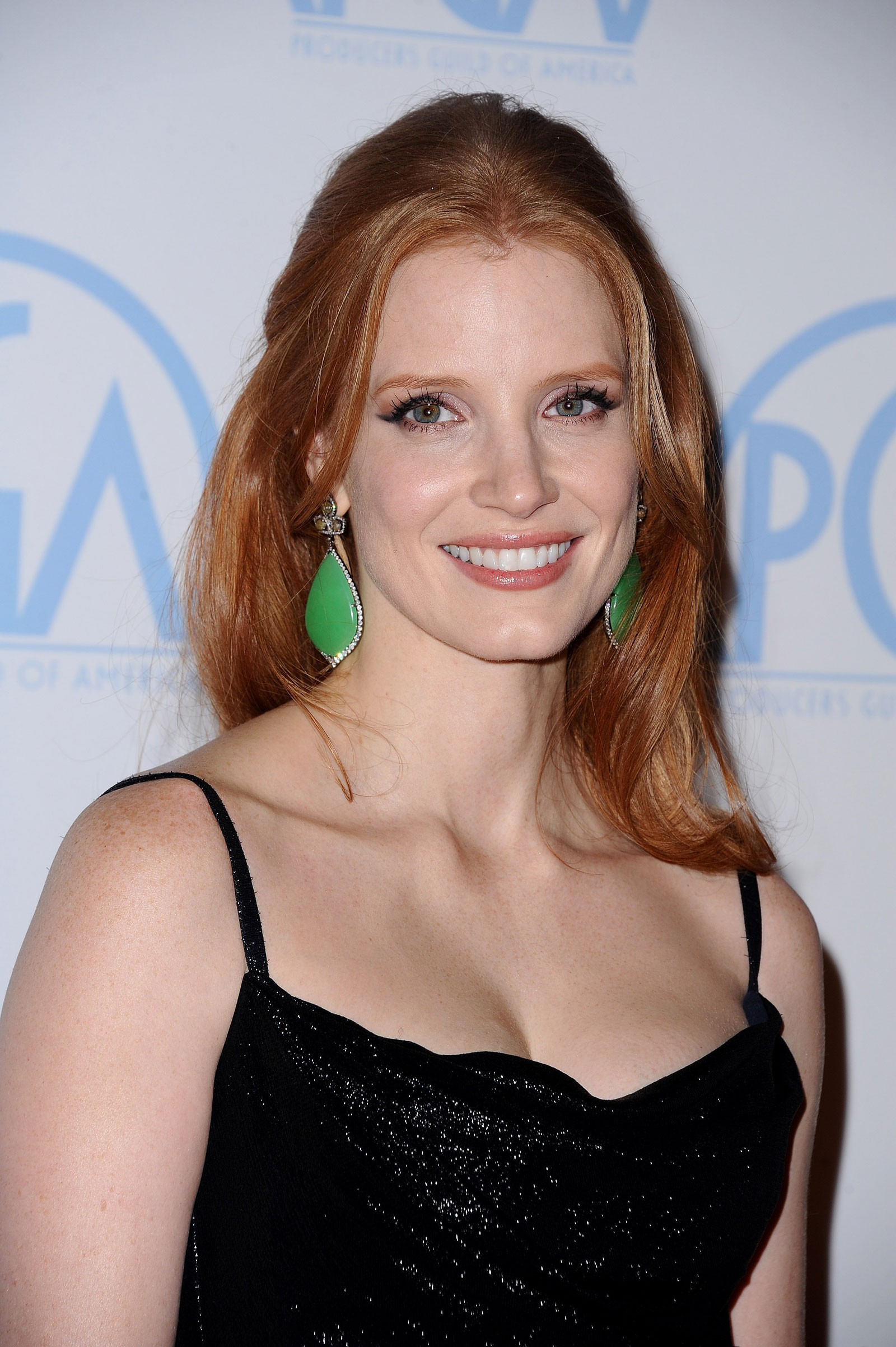 Jessica Chastain at 23rd Annual Producers Guild Awards in ... Jessica Chastain
