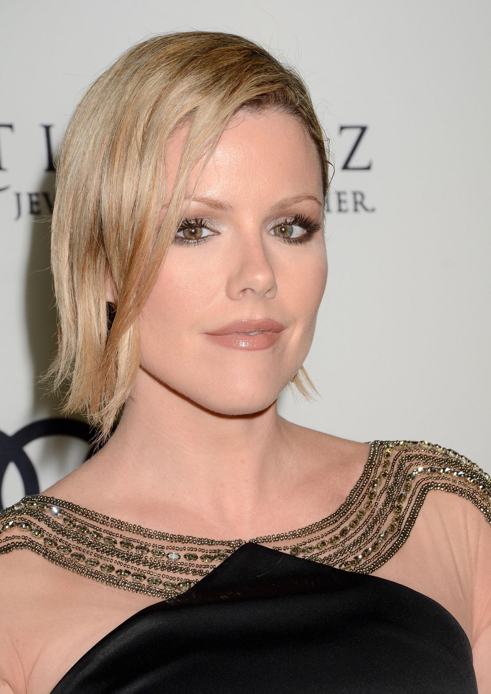 Kathleen Robertson at Audi Celebrates The 2012 Golden Globe Awards in West Hollywood - HawtCelebs