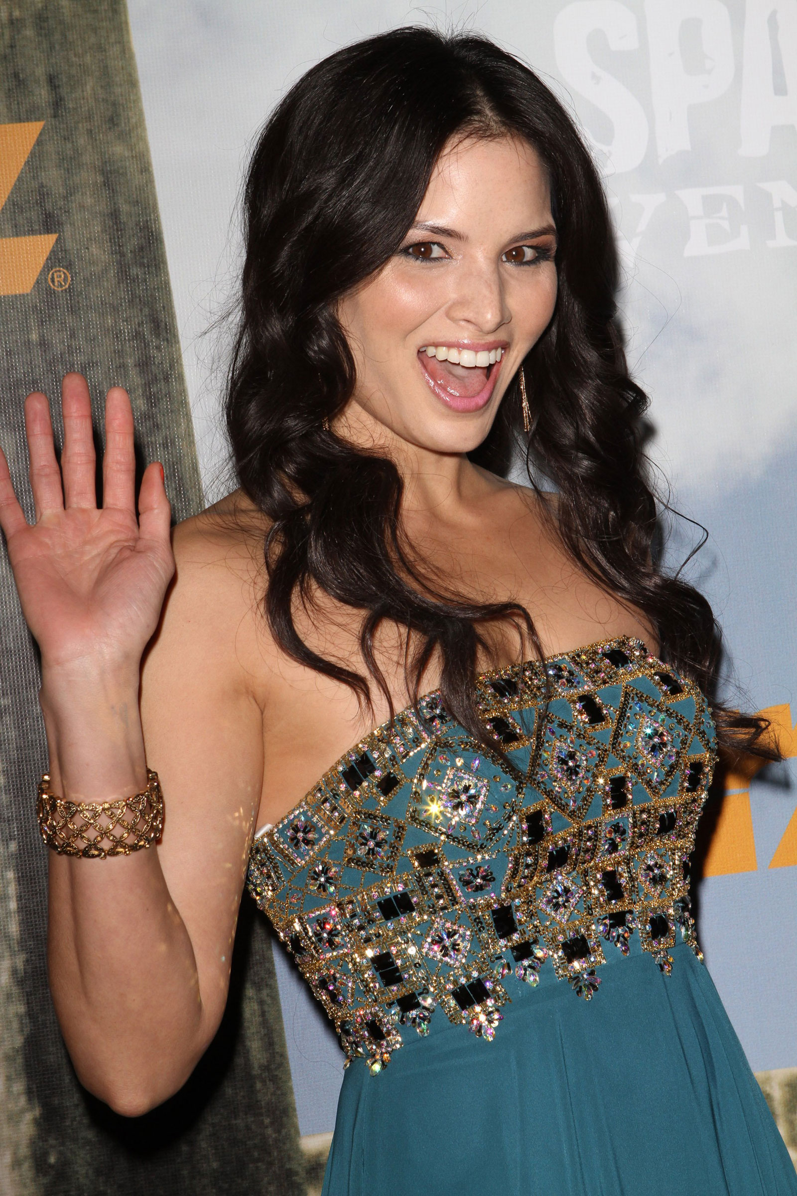 Katrina Law At Starz Original Spartacus Vengance Premiere In Los
