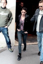 Kristen Stewart Vanity Fair Photo Shoot on Kristen Stewart Heads To Vanity Fair Photo Shoot   Hawtcelebs