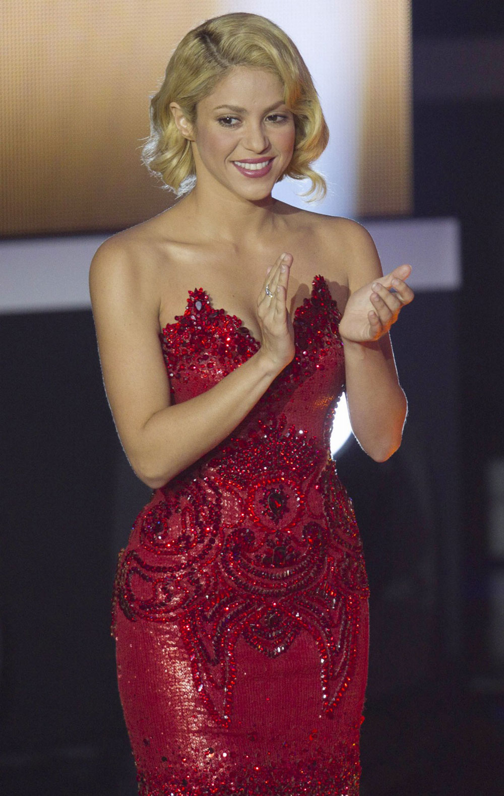 shakira at fifa ballon d or gala in zurich hawtcelebs