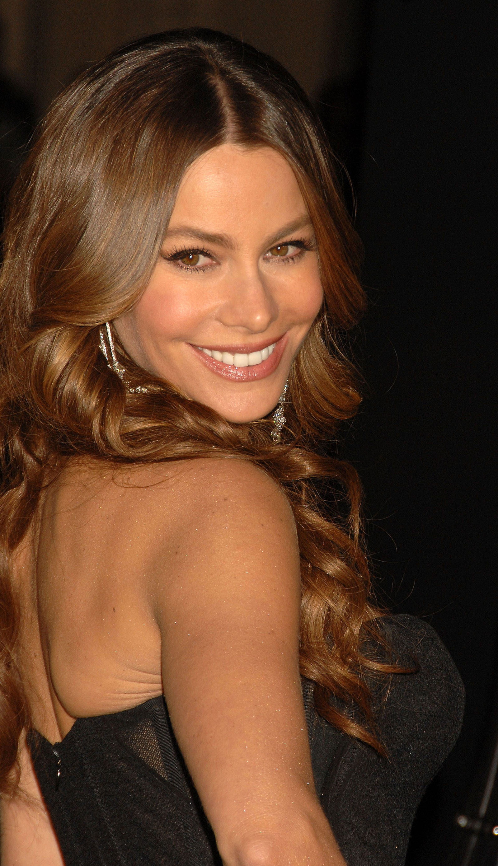 Sofia Vergara at New Year's Eve Premiere in Los Angeles ...