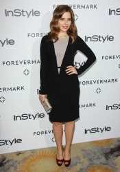 Sophia Bush at Forevermark And InStyle Golden Globes