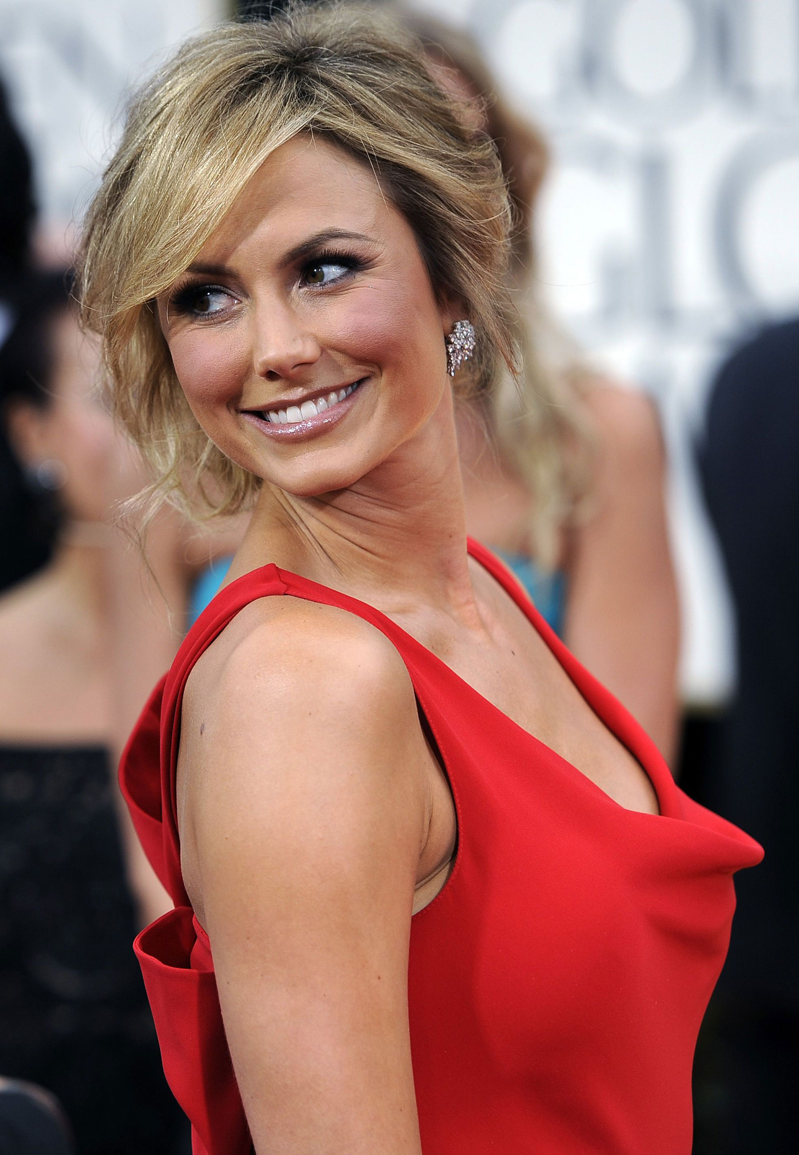 Stacy Keibler At 69th Annual Golden Globe Awards In Los Angeles