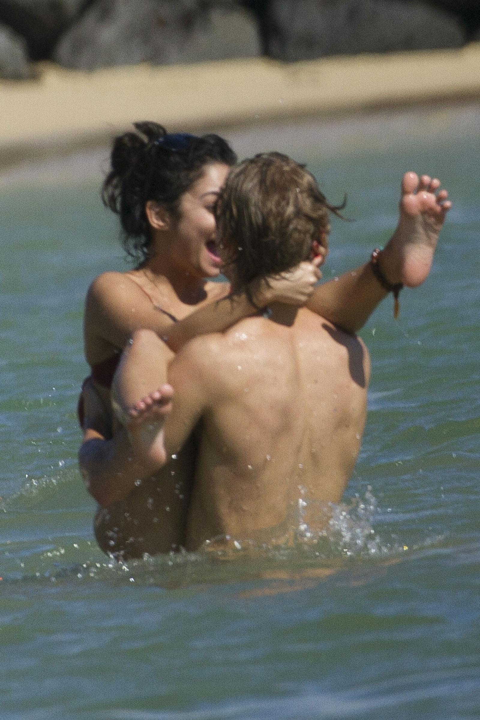 Vanessa Hudgens Bikini Candids On The Beach In Hawaii