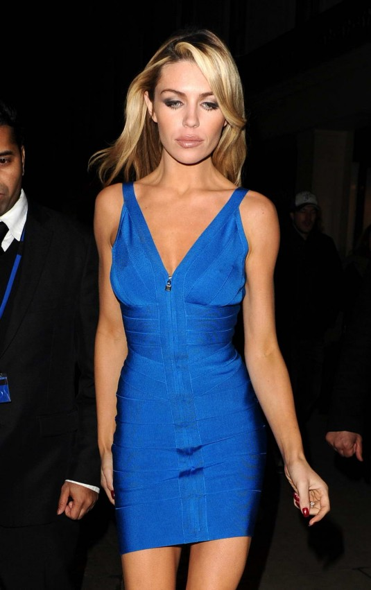 Abigail Abbey Clancy at The Superdrug Store in London