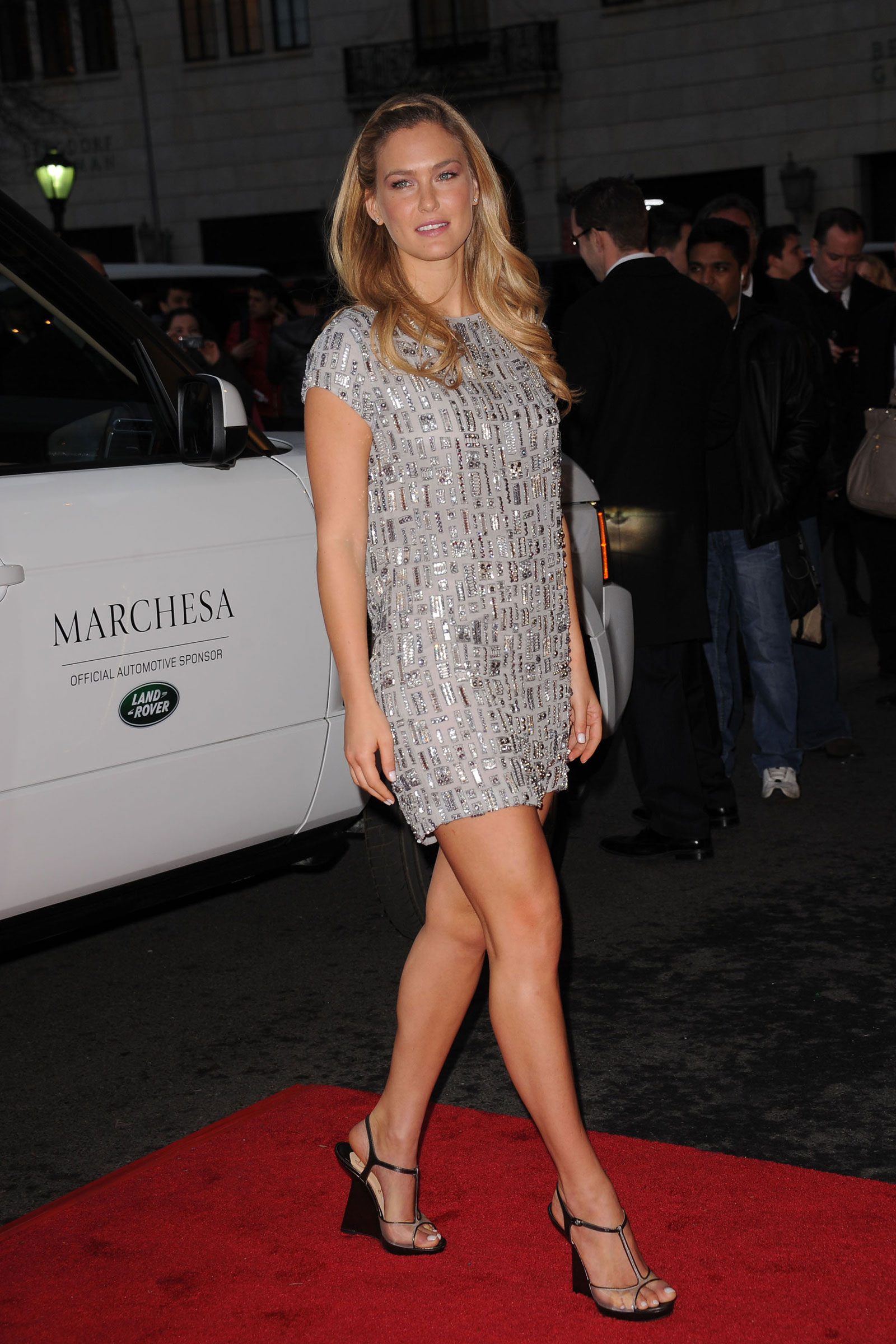 Fashion Of This Week Israeli Hot Girl Bar Refaeli At The Marchesa Fall 2012 Fashion Show In New