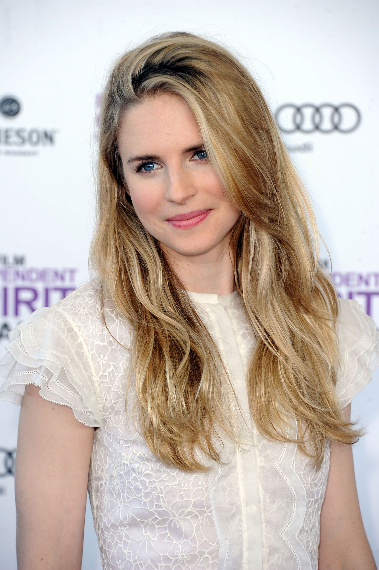 brit marling at the 2012 film independent spirit awards in