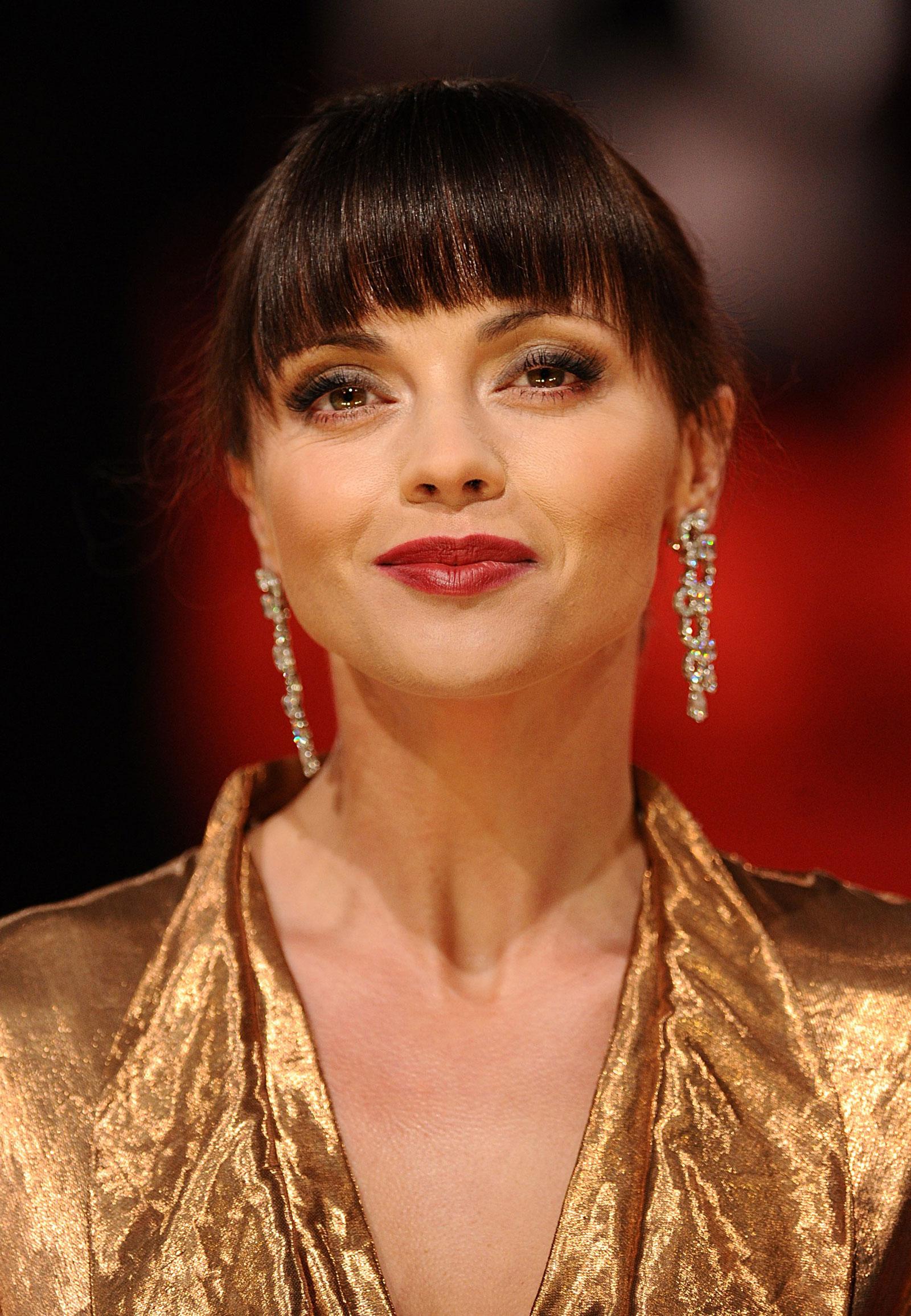 Christina Ricci at The Orange British Academy Film Awards in London Christina Ricci