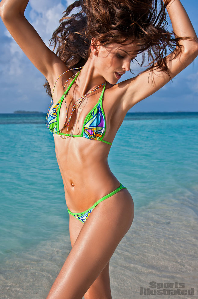 Sports Illustrated Swimsuit 2012 Body Paint Sports Illustrated's 2012