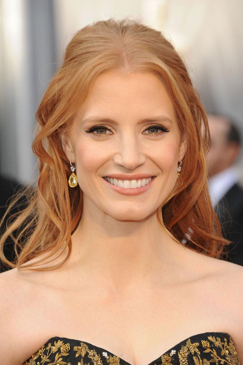 Jessica Chastain at 84th Annual Academy Awards in Los ... Jessica Chastain