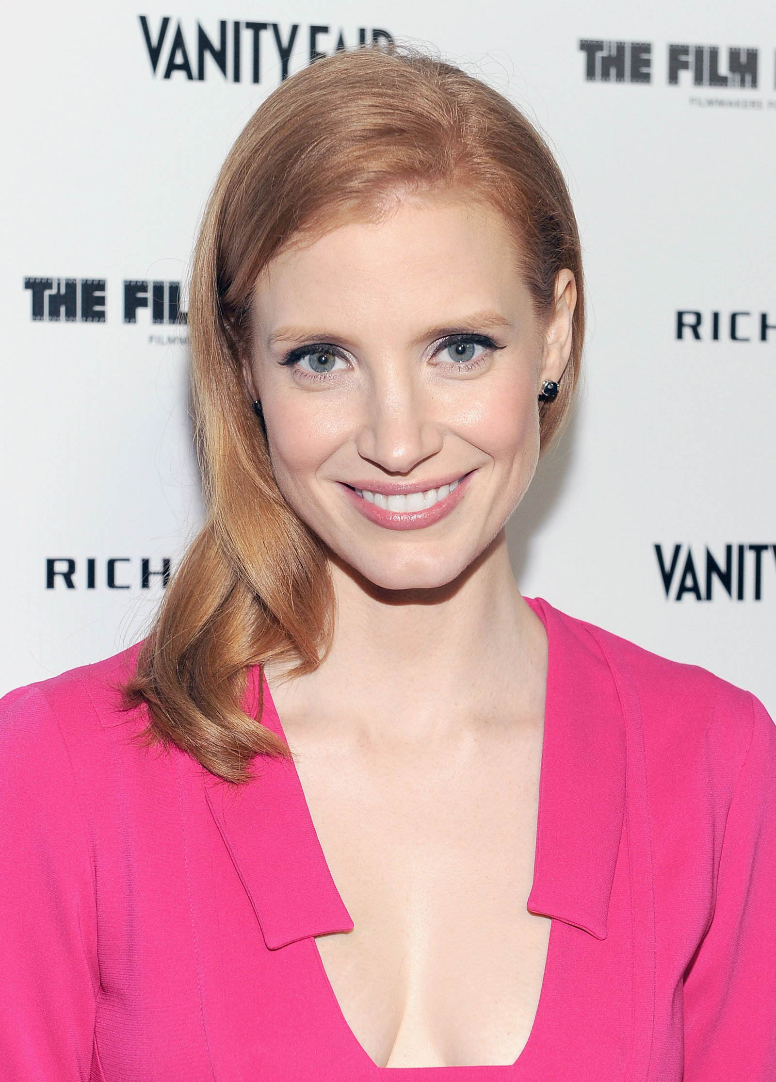 jessica chastain at vanity fair richard mille celebebration